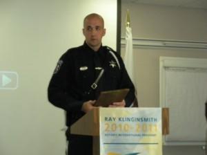 Police Officer of the Year - Brett Butler